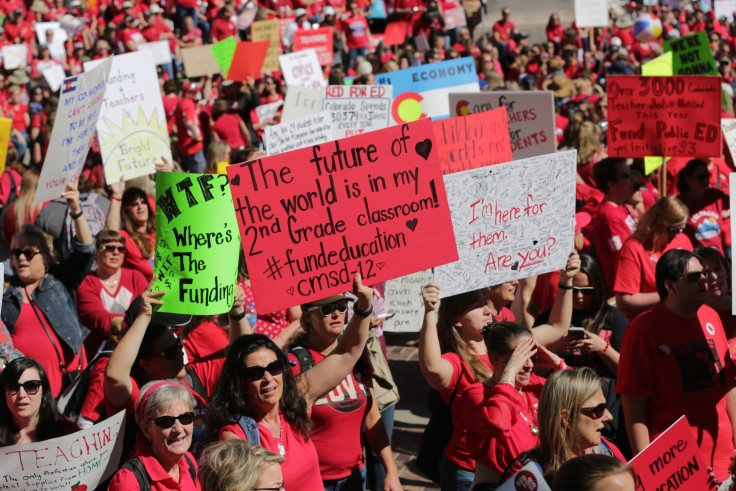 Teachers Walk Out Against Low Funding