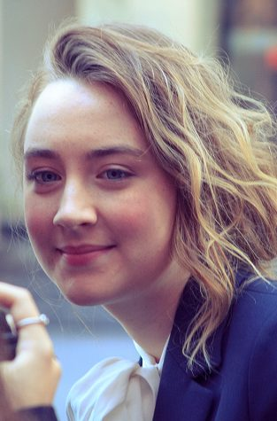 "Actress Saoirse Ronan who plays Jo in ""Little Women"""