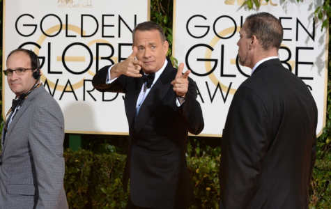 Courtesy of The San Diego Tribune, Tom Hanks prior to heading into the awards.