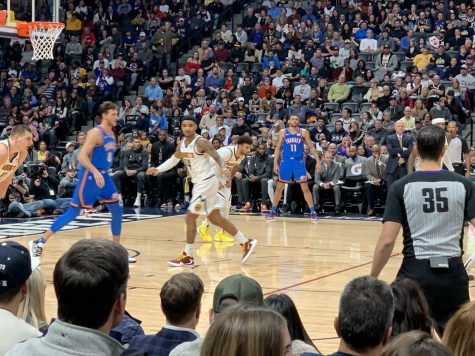Original Photo | Taken on December 14th, 2019, when the Denver Nuggets played a regular  season game against the Oklahoma City Thunder at the Pepsi Center